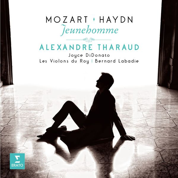 Alexandre Tharaud pochette CD Jeunehomme